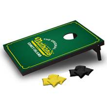 "CTS - 24"" x 36"" personalized corn toss with your logo printed onto the top."